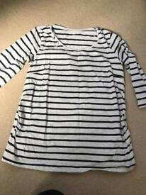 H&M maternity top xl