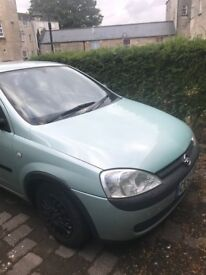 Opel Corsa, mint condition, low mileage