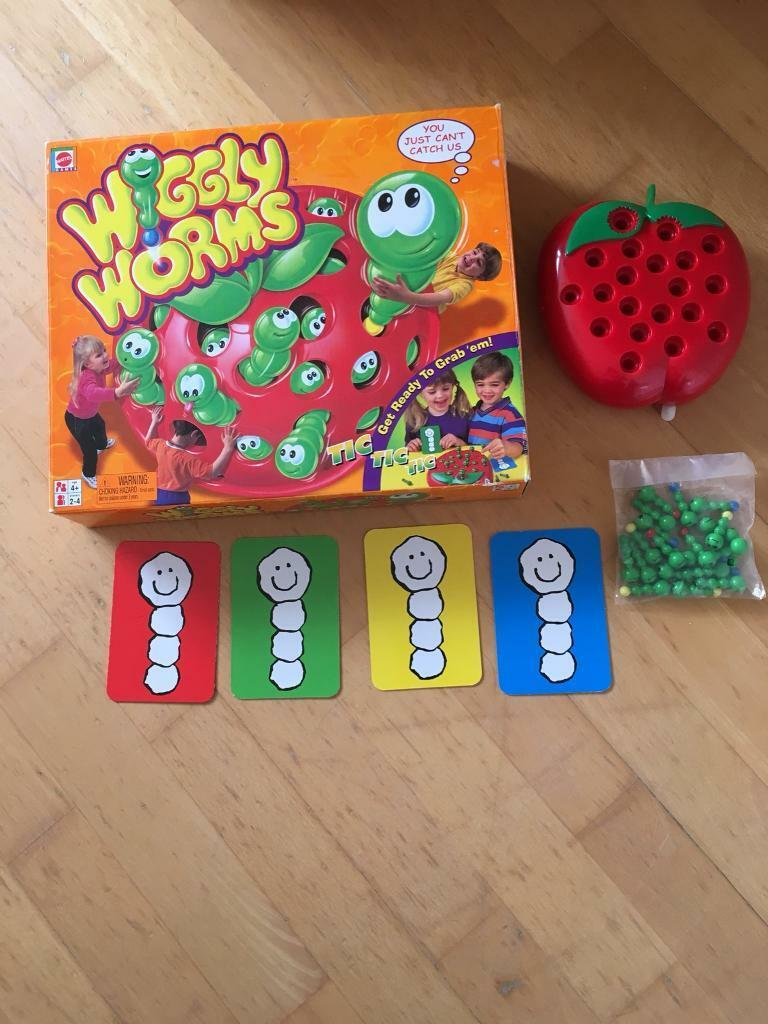 Wiggly worms game by martel