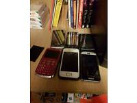 few phones no longer used
