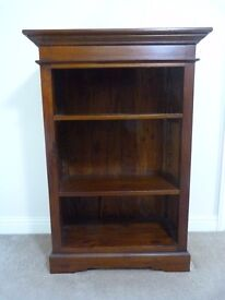 High quality, solid mahogany bookcase- Ancient Mariner brand