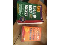 Spanish Verb Tenses & Collins Dictionary 3 in 1 £15