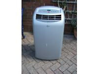 B & Q Portable Air Conditioning unit. Model WAP358DB.
