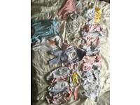 Newborn And up to 1 months baby girls bundle