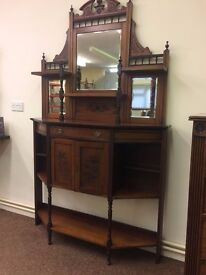 Shelving dresser from Victorian Era circa 1880's Free local delivery!!!