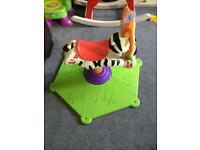 Bouncer Zebra toddler baby bouncer