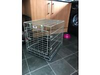 "Dog cage crate small 22"" long 20"" high x 18"" wide"
