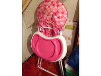 High chair SOLD
