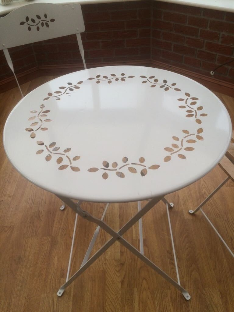 Patio Bistro Table And Chairs In Warrington Cheshire Gumtree