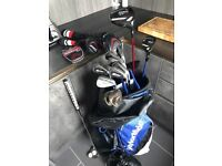 Titleist Driver Hybrid Irons Wedges Odyssey Putter TaylorMade Bag