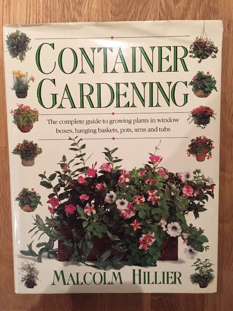 Container Gardening Book by Malcolm Hillier