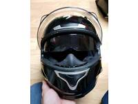 Motorcycle Helmet and boots