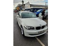 BMW white 1 series
