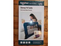 BabyDan Bed Guard, Blue. Bedrail. NEW