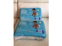 2 pack Little one kids nappies size 5