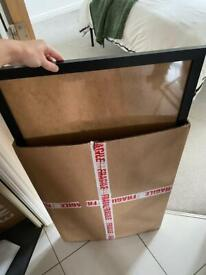 TWO LARGE 50x70cm PICTURE PHOTO FRAMES