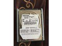 80 gb harddrive