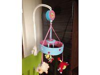 Mothercare Blossom Farm Cot Mobile
