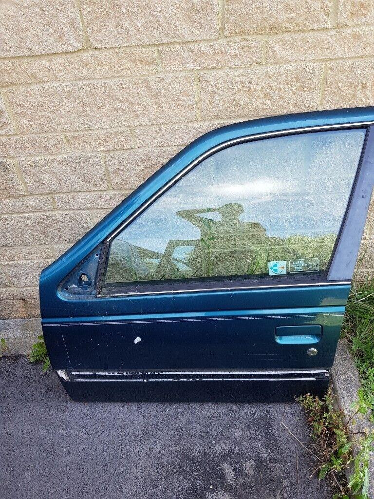 Peugeot 405 doors - £10 each - complete with electric window regulator glass handles