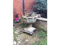 X2 Concrete plant pots