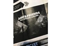 AMF & FRIENDS THE OFFICIAL CLOSING ADE TICKETS x2