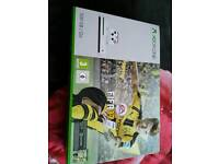 Xbox one s with games bundle fifa 17 & battleborn
