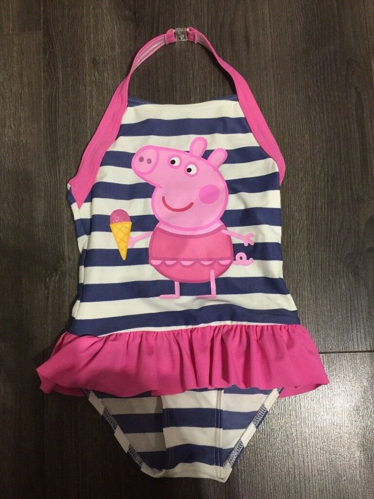 Peppa Pig Girls Swimming Costume Size 5-6 Years new | in ...