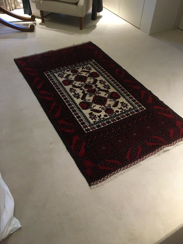 Rug Hand Tied Wool Made In Iran For