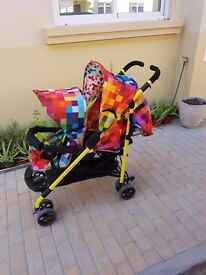 Double pram for sale