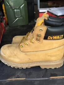 Dewalt Steel toe cap boots