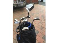 Wilson c19 golf clubs with RBZ 0.5 driver