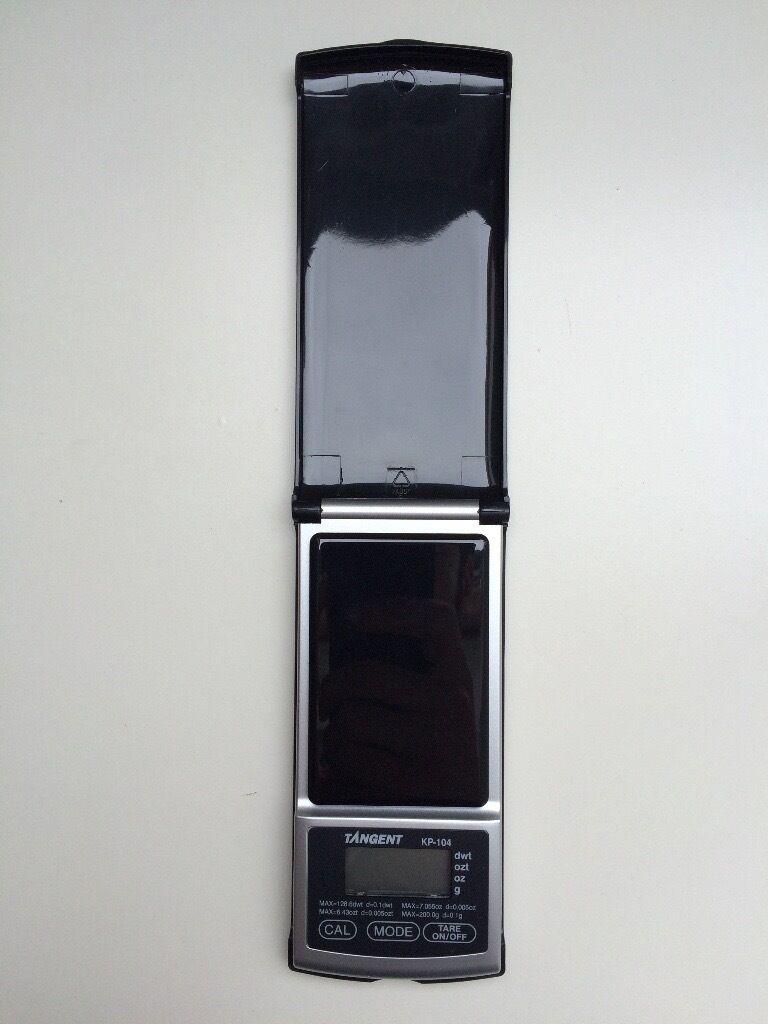 Tanita (Tangent) Digital Mini Scales (KP-104) max 200g - like new