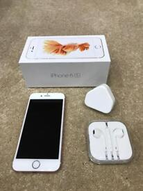 iPhone 6S 16GB in excellent condition unlocked!! 36£ per month contract until November 2018