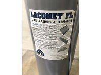 Lacomet lead free flashing bargain unused 9 metres & mastic adhesive