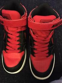 Red Nike SB Hi top Trainers size 3.5