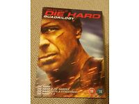 DIE HARD Quadrilogy 1 2 3 & 4 Box Set DVD