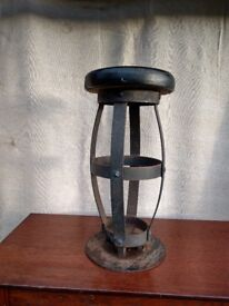 Fabricated Metal High Stools for Sale