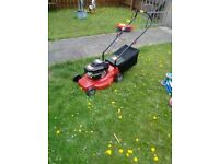 Push petrol lawnmower as new condition