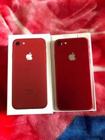 Apple iPhone 7 128gb red on EE with apple warranty