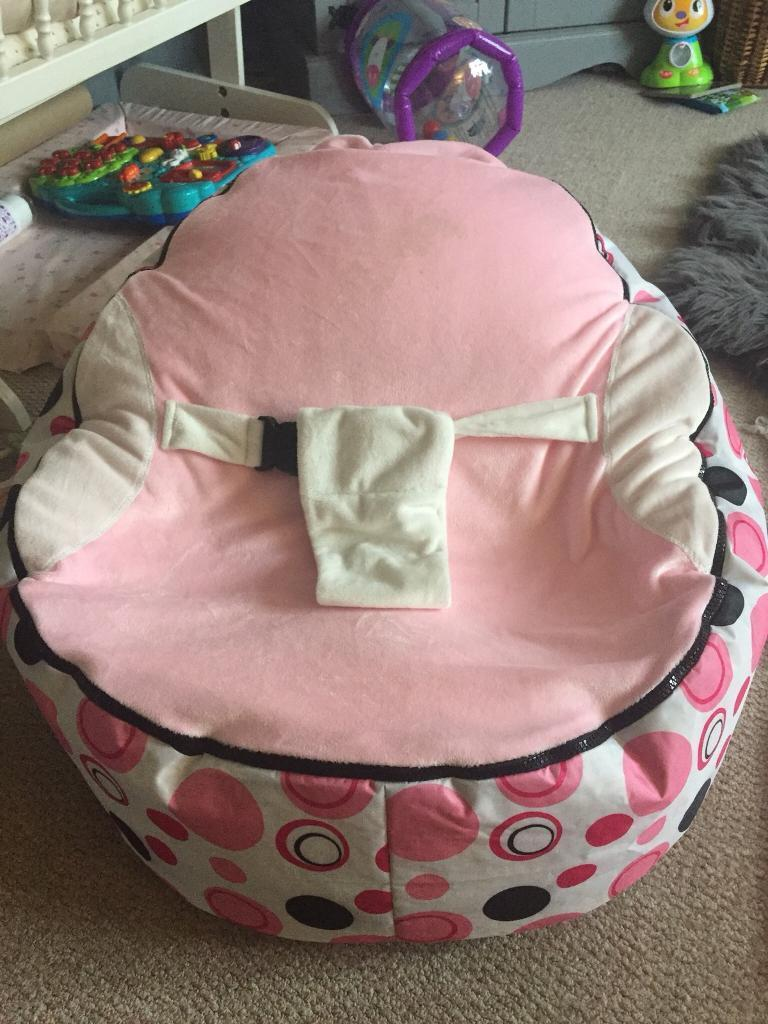 SOLD REDUCED baby bean bag