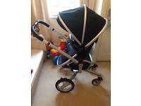 Silver Cross Surf Stroller & Simplicity Car Seat
