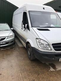 Mercedes sprinter 313 cdi all parts for breaking car breakers export scrapyard