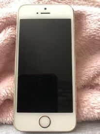 iPhone 5s in white and gold