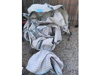Vented log dumpy bags 22 available