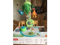 Fisher-price rainforest peek-a-boo musical mobile
