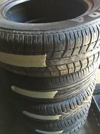 175/65/14 partworn tyres fitted £20
