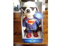 BRAND NEW SUPERMAN COMPARE THE MARKET MEERKAT TOYS LTD BNIB LIMITED EDITION SPECIAL TOY COLLECTION