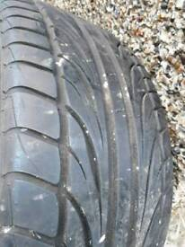 245 45 17 tyre with 7mm tread