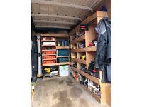 Van shelving racking crafter transit