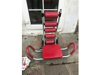 Sit up gym exercise machine